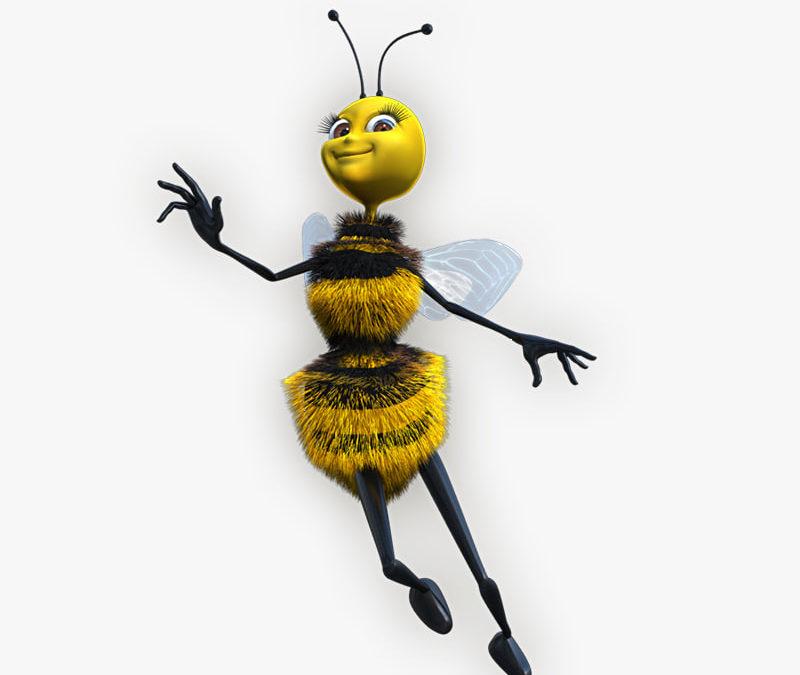 Regina albinelor-cum este incoronata matca si cand isi paraseste familia de albine